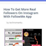technomantu instagram followers